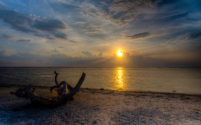 Sunset, Gili T, Lombok