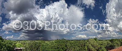 Texas Hill Country Summer Afternoon Storm