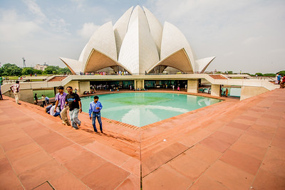 Baha'i Lotus Temple, India