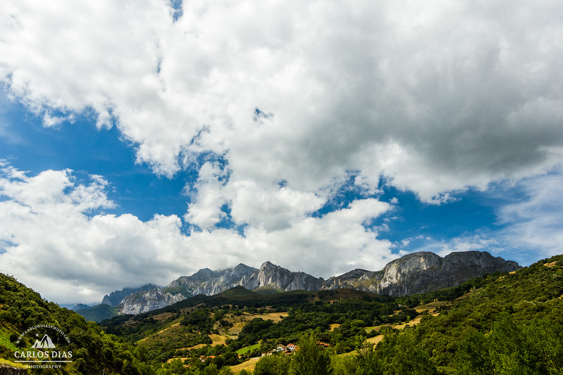 "Oriental side of Picos de Europa National Park, viewed from Desfiladero de La Hermida, Astúrias, Spain                   Captured in my last day of the trip, this is a frame from one of the footages that belongs to my timelapse video ""Breathing other world"" which you can watch here:https://vimeo.com/110658449"