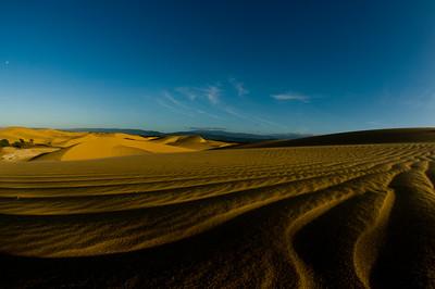sand dunes in Coro, Venezuela.