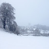 Richmond through the snow