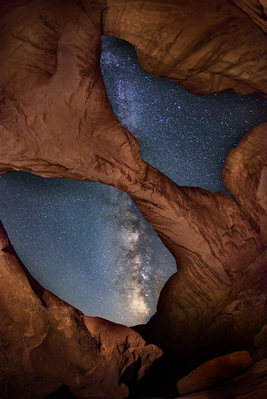 Double Arch from Within