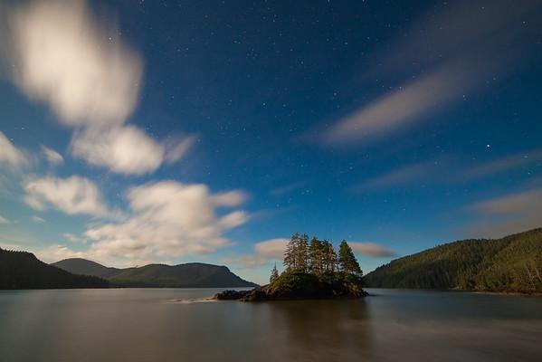 Cape Scott Stars at San Josef Bay