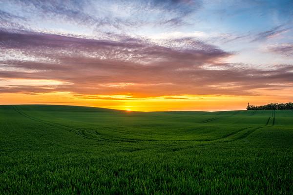AW sunset