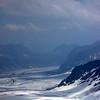 Aletsch glacier, Jungfraujoch