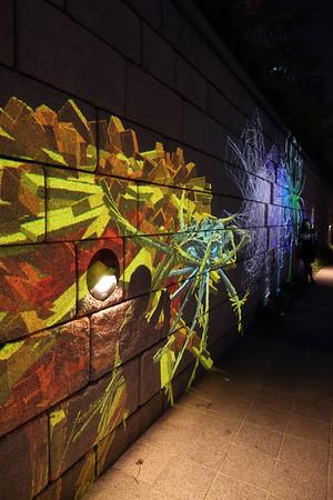 Neon Art in the Chyeongye chong