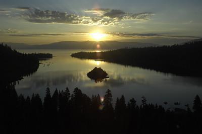 Summer Sunrise at Emerald Bay, Lake Tahoe, Nevada
