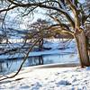 A frozen River Swale