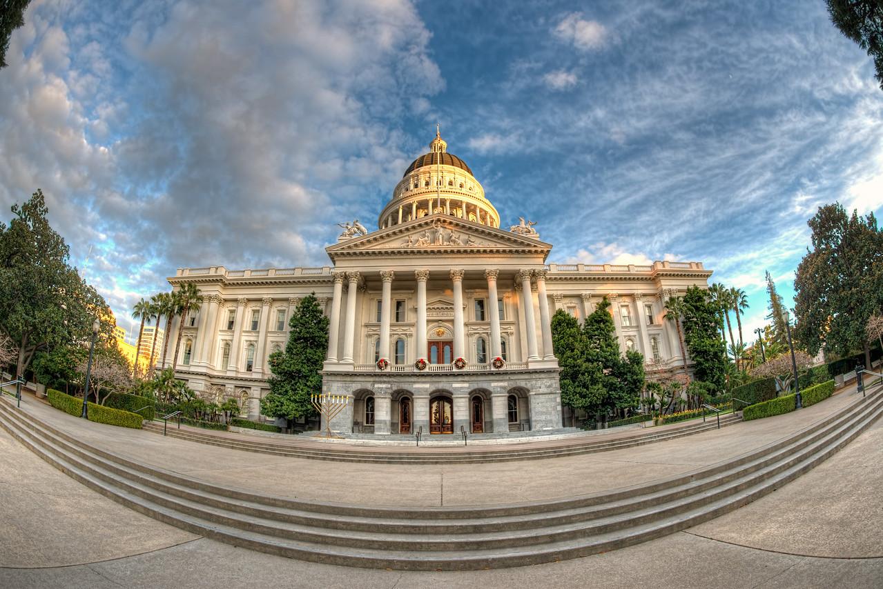 California Capitol Fisheye