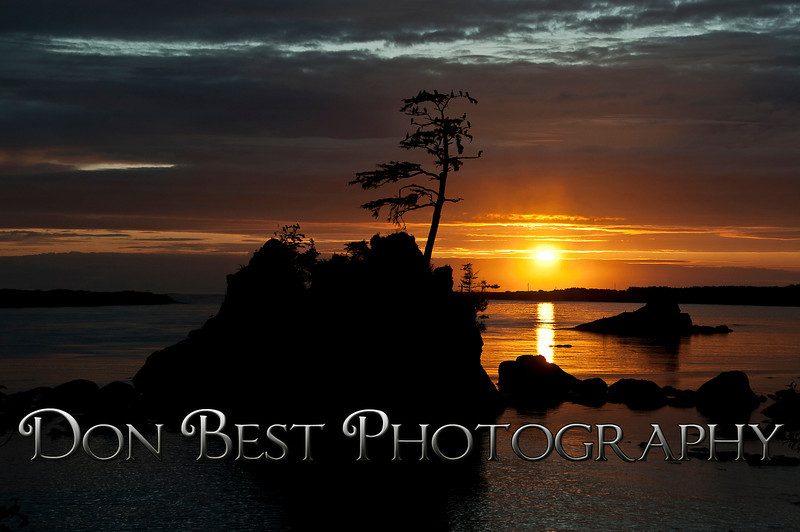 Three Graces Sunset, Barview Or #7596