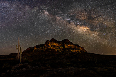 Milky Way over Picket Post Mountain