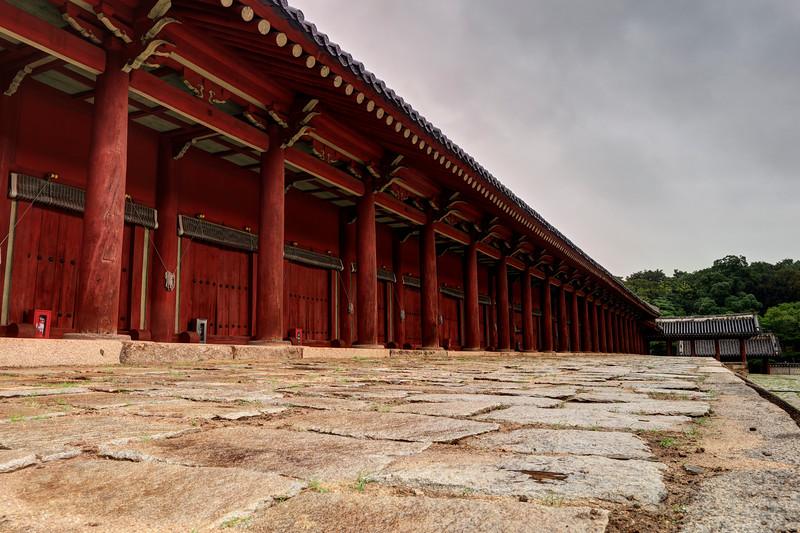 JongMyo Shrine, long building