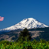 """Flag Flying""  Mt Adams, Washington"