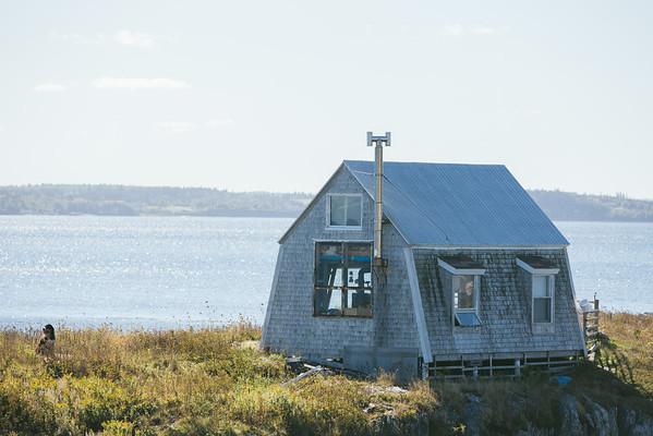 Nova Scotian seaside cottage