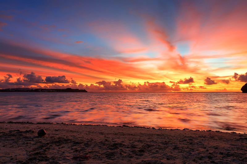 Sunset in Guam