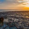Sunset at Lepe Beach, Hampshire, UK