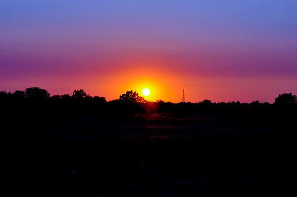 Roseville at Sunset