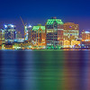 Halifax Harbour Front reflections
