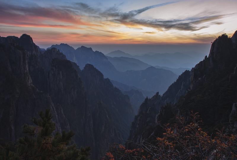 Huangshan Sunset