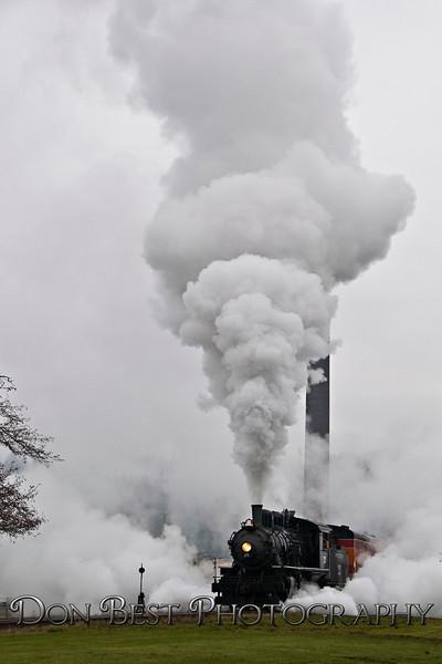 Steam Engine at Garibaldi #3236