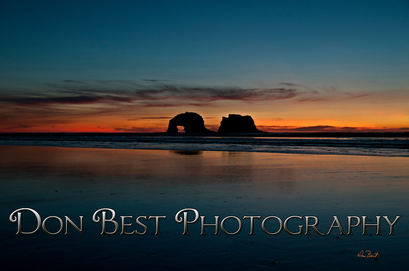 Twin Rocks Sunset #8856PSN