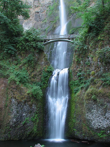 Multnomah Falls near Hood River, OR