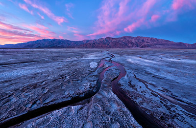 Death Valley Sunrise, two