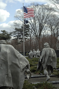 The Korean War Memorial Washington DC