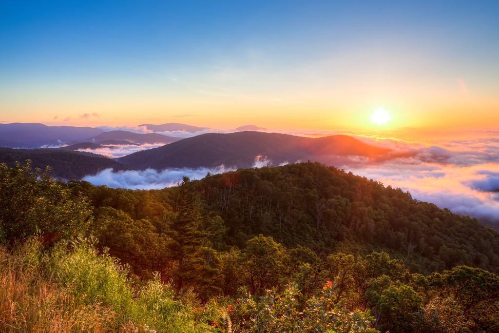 Shenandoah Sunrise  || Shenandoah National Park, VA
