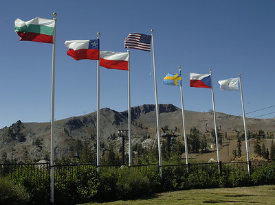 Olympic Honor to the Nations, Squaw Valley, California