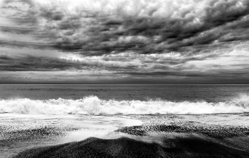Rialto Beach,  Wa. BW
