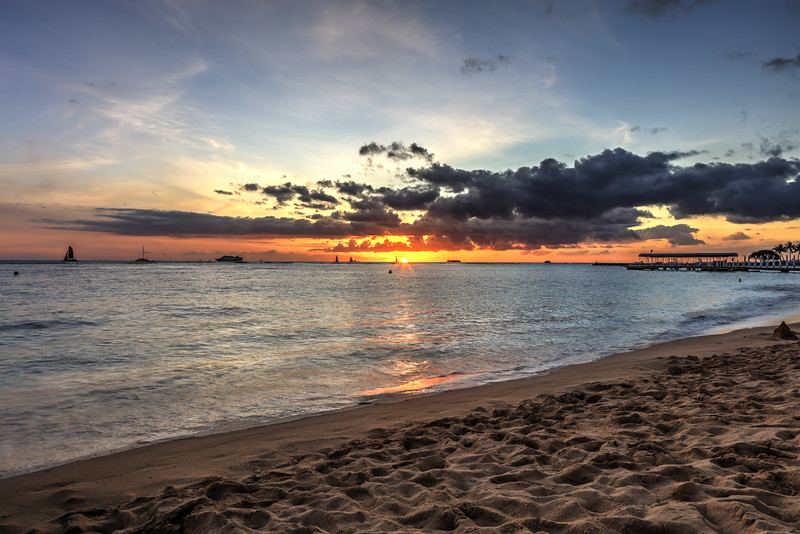 Sunset in Hawaii