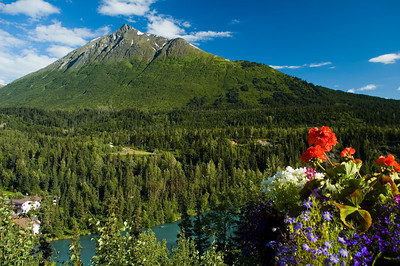 Glacial Mountain on Kenai Peninsula, Alaska