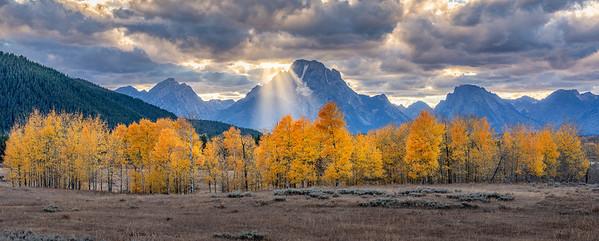 Mt Moran, Grand Teton National Park, Wyoming