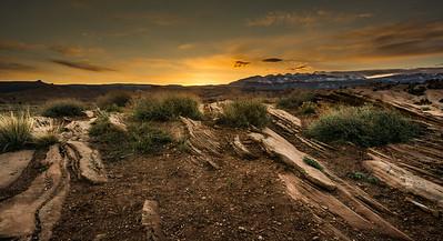 Sand Flats Sunrise