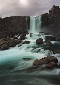 Öxarárfoss, Iceland