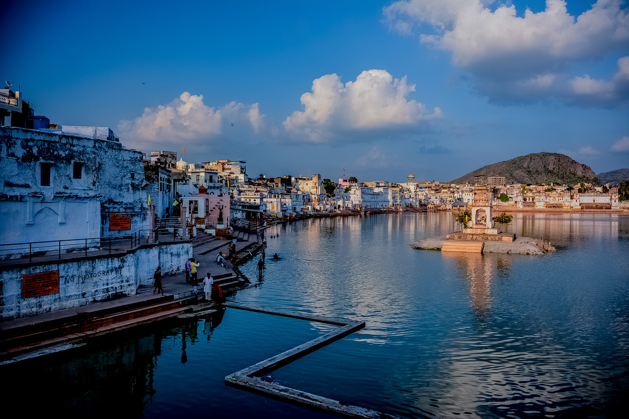 Lake  Pushkar,  India