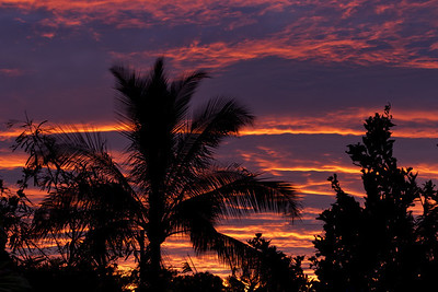 """The Morning After"" (Pre-dawn sky on 7-30-13, after Tropical Storm Flossie passed on by...)"