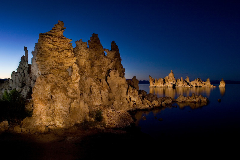 Tufas Glow -Mono Lake, CA