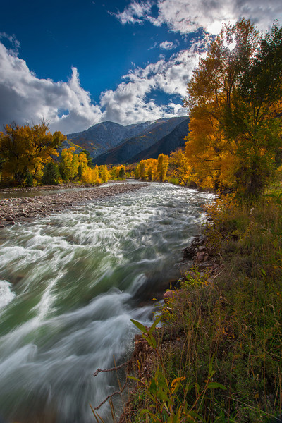Crystal River in Aspen Colorado
