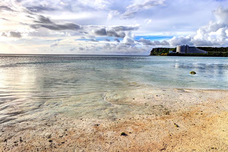Guam's tumoning beach