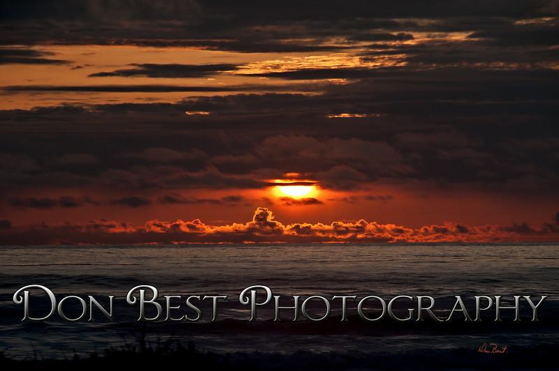 Rockaway Beach Sunset #1148