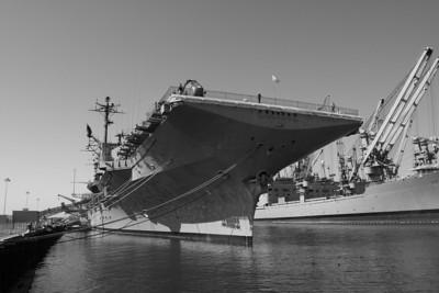 USS Hornet (CV-12), Alameda California