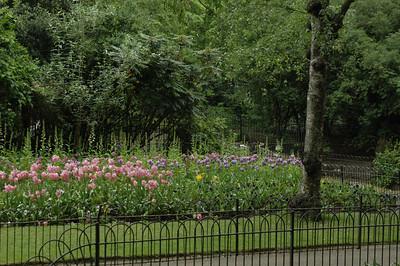 An English Garden.  London, England
