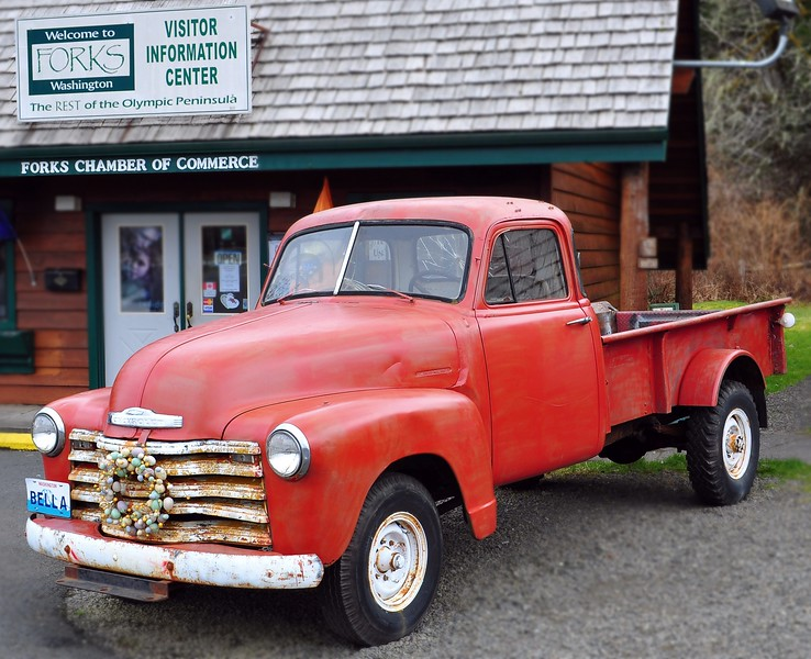 Bella's Truck - Twilight<br /> <br /> Forks, WA