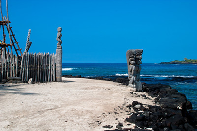 Place of Refuge,  Pu'uhonua o Honaunau NHS