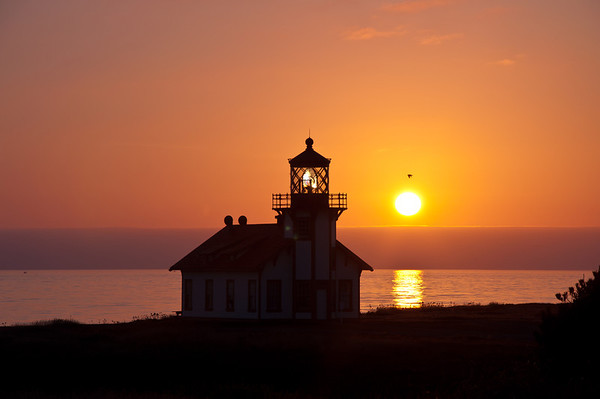 Point Cabrillo at Sunset