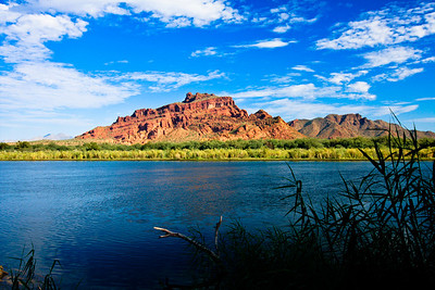Red Mountain, Granite Reef on the Salt River