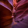 Lower Antelope Canyon, on Navajo land near Page, Arizona - Square